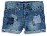 Vigoss Girls 2-6x Little Girls Patchwork Jean Shorts