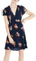 Madewell Women's Cactus Flower Silk Dress
