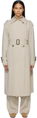The Row Beige Wool Yeli Coat