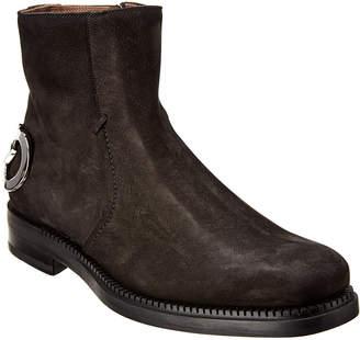 Salvatore Ferragamo Bankley Suede Ankle Boot