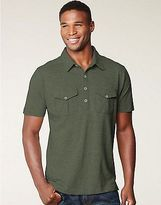 Men's Hanes Signature Jersey Cotton Ultimate Pocket Polo Men's Shirts