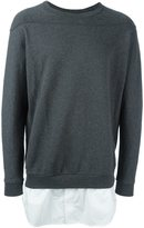 3.1 Phillip Lim shirt tail sweatshirt