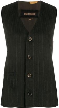 UMA WANG Mixed Print Waistcoat