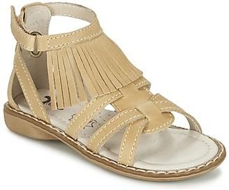 Citrouille et Compagnie CONQUITA girls's Sandals in Beige