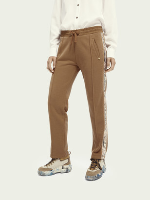 Scotch & Soda Sweatpants with side tape | Women