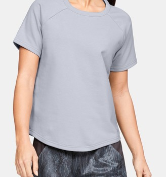 Under Armour Women's UA Terry Short Sleeve