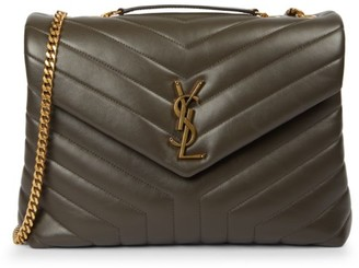 Saint Laurent Medium Loulou Matelasse Leather Shoulder Bag
