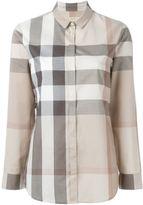 Burberry checked shirt - women - Cotton - L