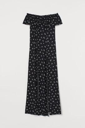 H&M Off-the-shoulder Maxi Dress