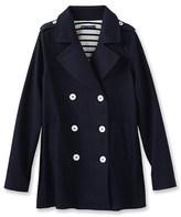 Petit Bateau Iconic womens pea jacket