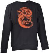 Marcelo Burlon County of Milan Snake Embroidered Sweatshirt