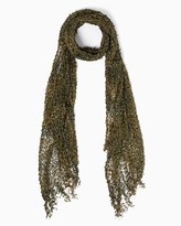 Charming charlie Boho Crocheted Long Scarf