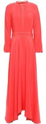 Roksanda Morocain Silk-crepe Maxi Dress