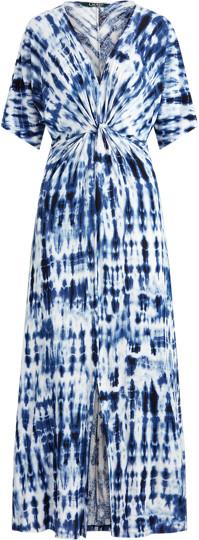 Ralph Lauren Tie-Dye Linen Dress