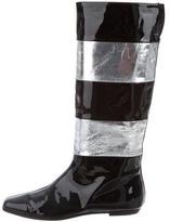 Dolce & Gabbana Tall Square-Toe Boots