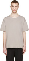 Robert Geller Grey Crew T-shirt