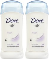 Dove Invisible Solid Deodorant, Fresh