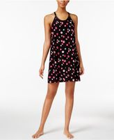 Alfani U-Neck Printed Knit Chemise, Created for Macy's