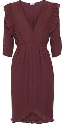 Masscob Gardiner Ruffle-trimmed Cotton-gauze Dress