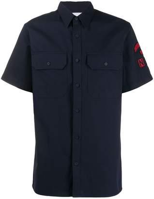 Calvin Klein Jeans logo patch shirt