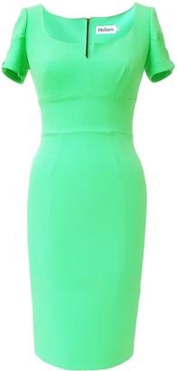 Mellaris Marilyn Dress Apple Green Crepe