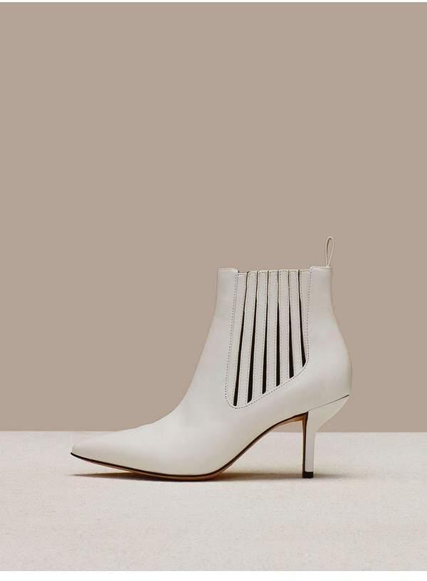 Diane von Furstenberg Mollo Leather Boots