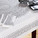 Black & White Medallion Tablecloth