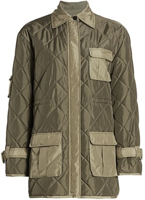 Ganni Ripstop Quilted Jacket