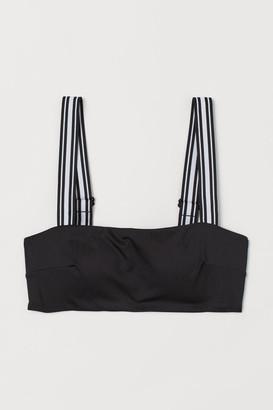 H&M Padded Bikini Top - Black
