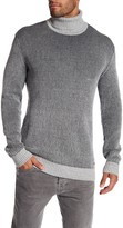 Lindbergh Two Tone Turtle Neck Knit Sweater