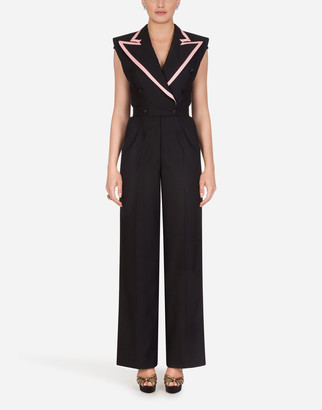 Dolce & Gabbana Woolen Fabric Suit