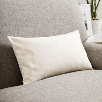 The White Company Scatter Cushion Cotton, Pearl Cotton, Medium Square