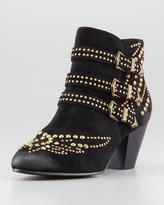 Ash Joyce Studded Ankle Boot, Black