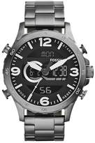 Fossil Men's Nate Chronograph Bracelet Watch, 50mm