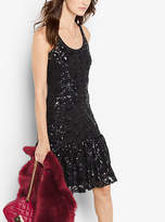 Michael Kors Sequined Lace Dress