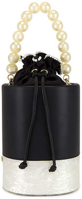 Lele Sadoughi Contrast Bucket Bag