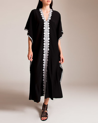 MARIE FRANCE VAN DAMME Embroidered Boubou