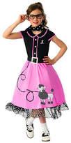 Asstd National Brand Girls 50s Sweetheart Costume
