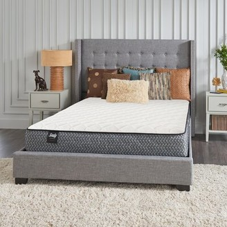 "Sealy Response Essentials 10"" Firm Innerspring Mattress and Box Spring Mattress Size: Twin, Box Spring Height: Standard Profile (9"")"