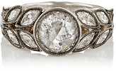 Cathy Waterman Women's White Diamond & Platinum Garland Ring