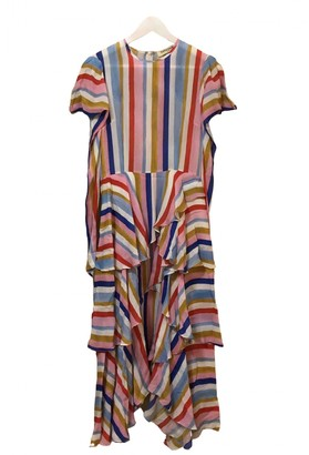 Tata-Naka Multicolour Silk Dress for Women