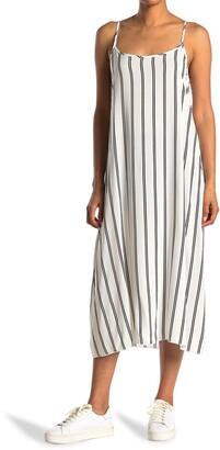 CENY Spaghetti Strap Floral Print Dress
