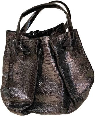 Nancy Gonzalez Black Python Handbags