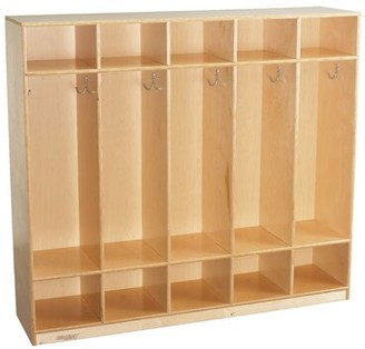 Child Craft 5 Section Preschool Cubby Locker Childcraft
