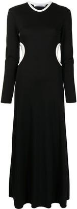CHRISTOPHER ESBER Fran negative space long-sleeve dress