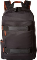 Calvin Klein Nylon Backpack with Leather and Rubber Detail