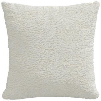 One Kings Lane Sheepskin Pillow - Ivory