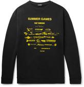 Raf Simons - Oversized Printed Loopback Cotton-jersey Sweatshirt