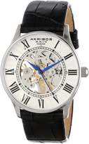 Akribos XXIV Men's AK499SS Bravura Slim Mechanical Leather Strap Watch