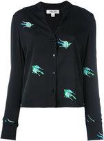 Diane von Furstenberg bird print blouse - women - Silk/Spandex/Elastane - 10